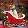 Mikołajowe sanie z piernika
