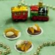 Florentynki czekoladowe z świątecznymi życzeniami :)