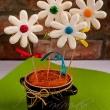 Wiosenne kwiatki - ciastka kruche - maślane