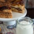 Ciasto odwracane z nektarynkami (Nectarine upside-down chiffon cake)