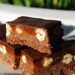 Batoniki czekoladowo – kajmakowe