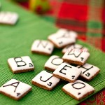 Gingerbread scrabble