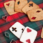 Gingerbread playing cards