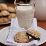 Ciasteczka kokosowo – owsiane z białą czekoladą