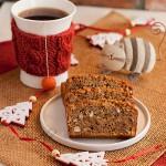 Świąteczny keks migdałowy (bez mąki)