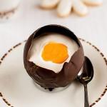 Czekoladowe jajo wielkanocne