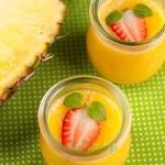 Smoothie – ananas, pomarańcza