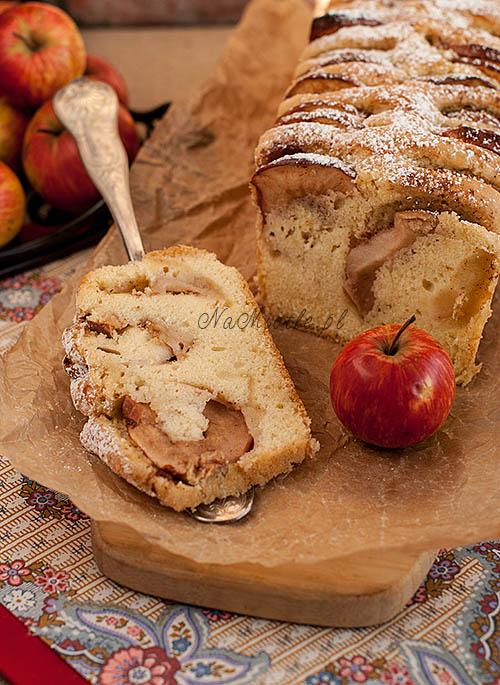 ciasto ucierane z jabłkami_nm2