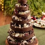 Choinka z czekolady