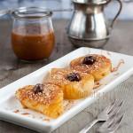 Smażone gruszki z sosem toffi