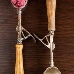 Lody z owoców leśnych (z lawendą i octem balsamicznym)
