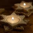 Piernikowe świeczniki