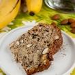 Ciasto bananowo - migdałowe