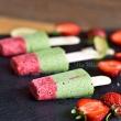 Lody szczawiowo - truskawkowe (bez cukru)