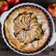Tarta z jabłkami, rustykalna
