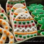Maślane ciasteczka świąteczne