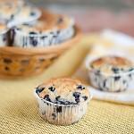 Muffiny bardzo jagodowe