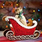 Gingerbread sleigh