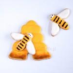 Ciasteczko ul  (z pszczołą)